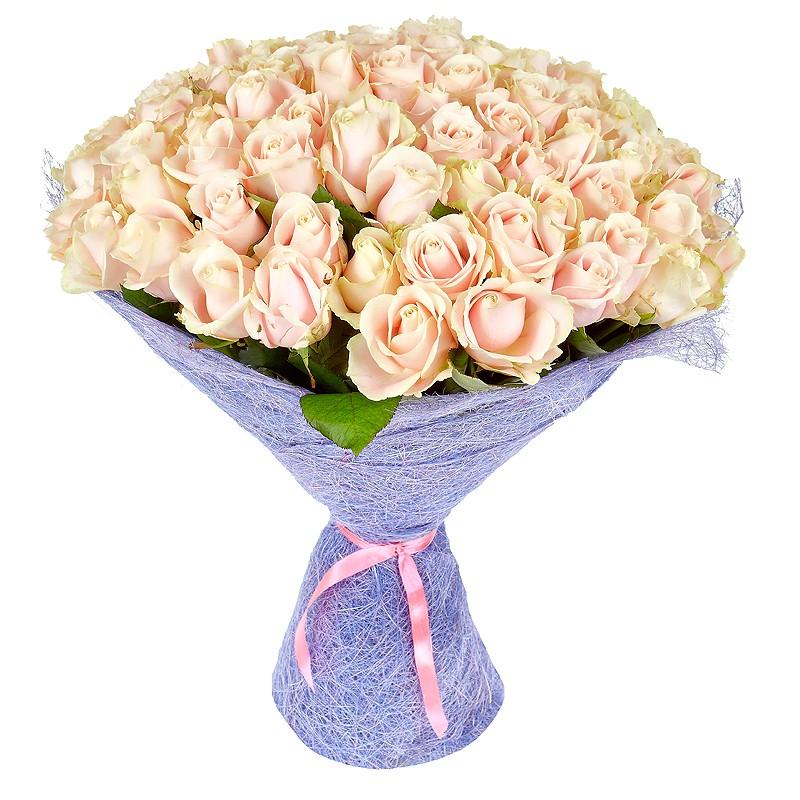 Фото 101 кремовая роза