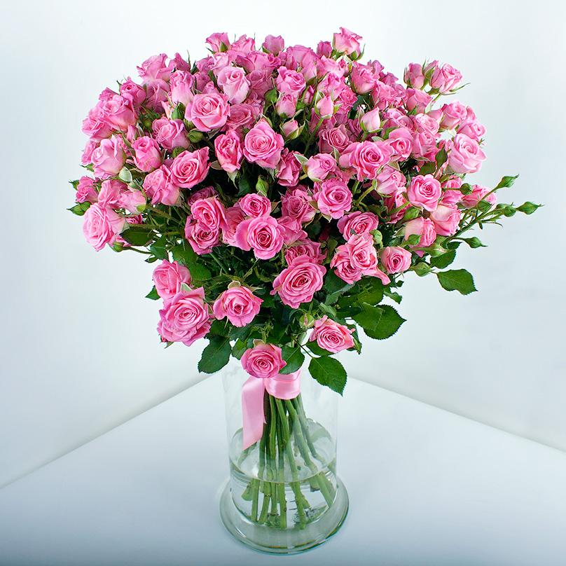 Фото 19 розовых кустовых роз