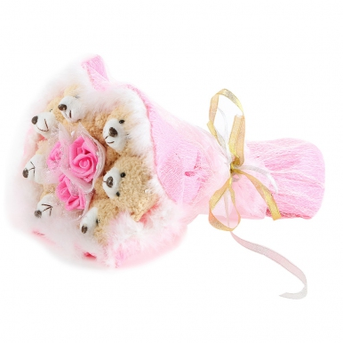 Семь медведей в розовом