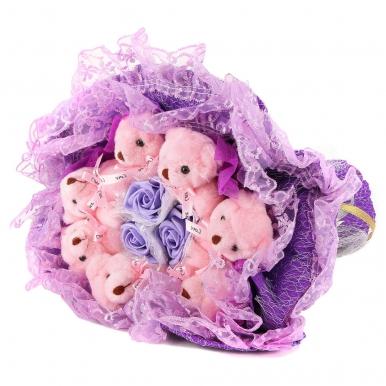 Букет в фиолетовых тонах