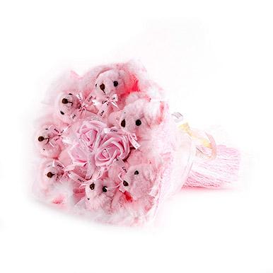Розовые медведи