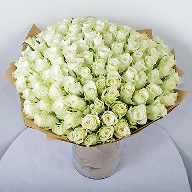 111 белых роз