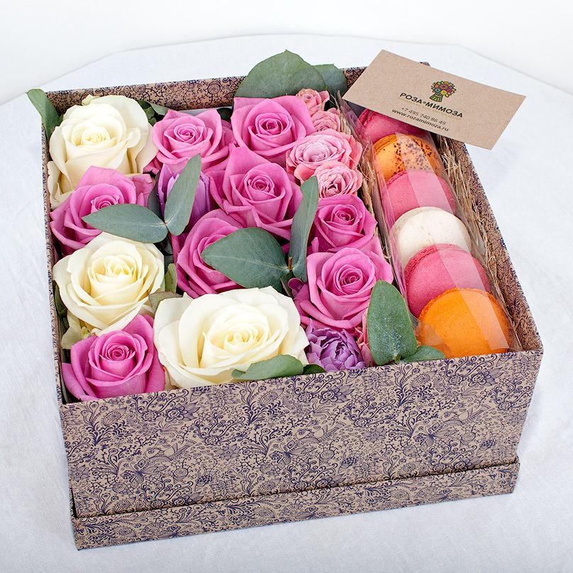 Фото Цветы и сладости