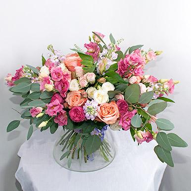 Шикарный букет из роз премиум