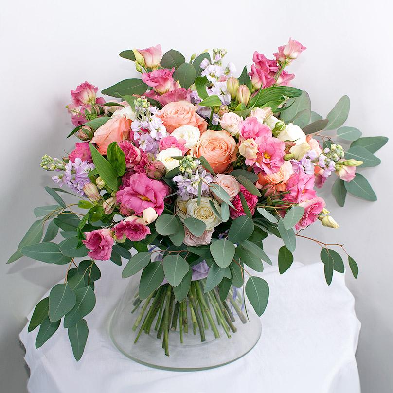 Фото Шикарный букет из роз премиум