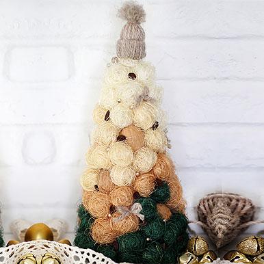 Уютная новогодняя елочка