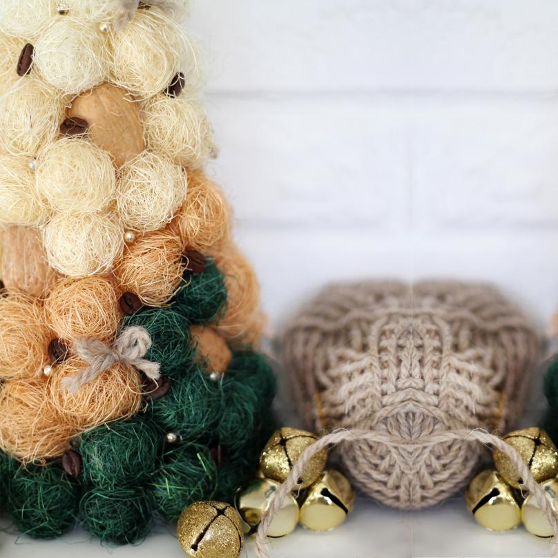 Фото Уютная новогодняя елочка