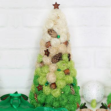 Новогодняя елка Звездная