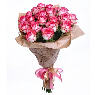 21 роза Джумиля в крафте